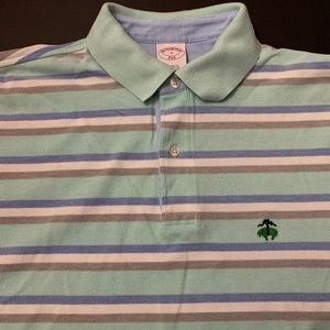 Brooks Brothers Golf Shirt Stripes Small Polo